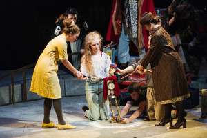 Caucasian Chalk Circle at The Riverfront, Newport - National Youth Theatre Wales